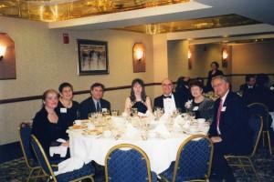 Элла и Александр на Благотворительном Балу в Бостоне, 1999