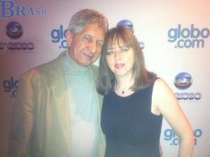 Элла с Додо на вечере присуждения премий  бразильского телевидения   TV Globo International, 2012