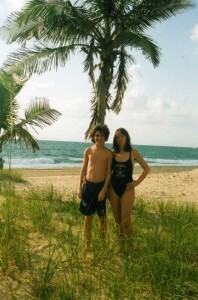 Элла с сыном, Майами, 2006